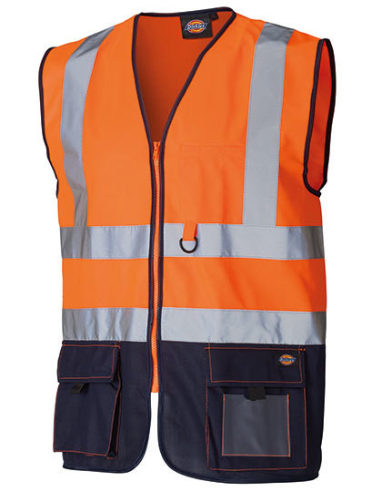 Two Tone High Visible Bodywarmer