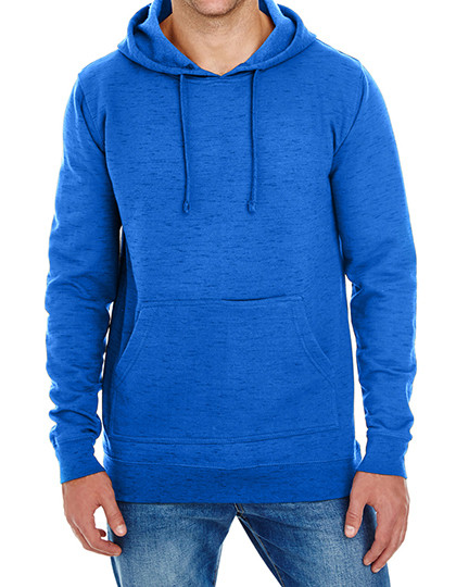 Injected Slub Yarn Dyed Fleece Hoodie