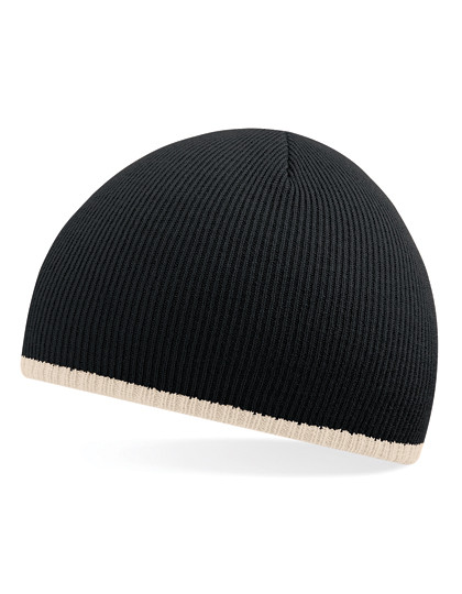Two-Tone Pull-On Beanie