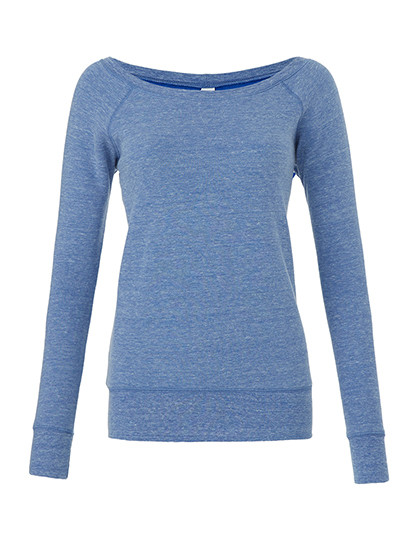 Women`s Sponge Fleece Wide Neck Sweatshirt