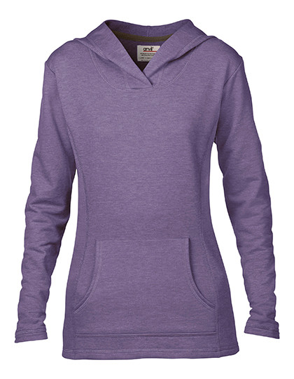 Women`s Crossneck Hooded Sweatshirt